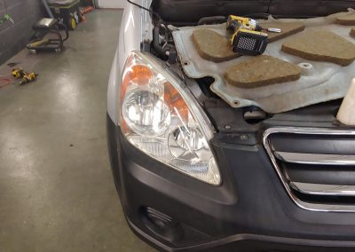 DENT STATION PLUS - headlamp restoration after