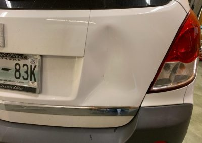 DENT STATION PLUS - PDR HATCH 2 BEFORE